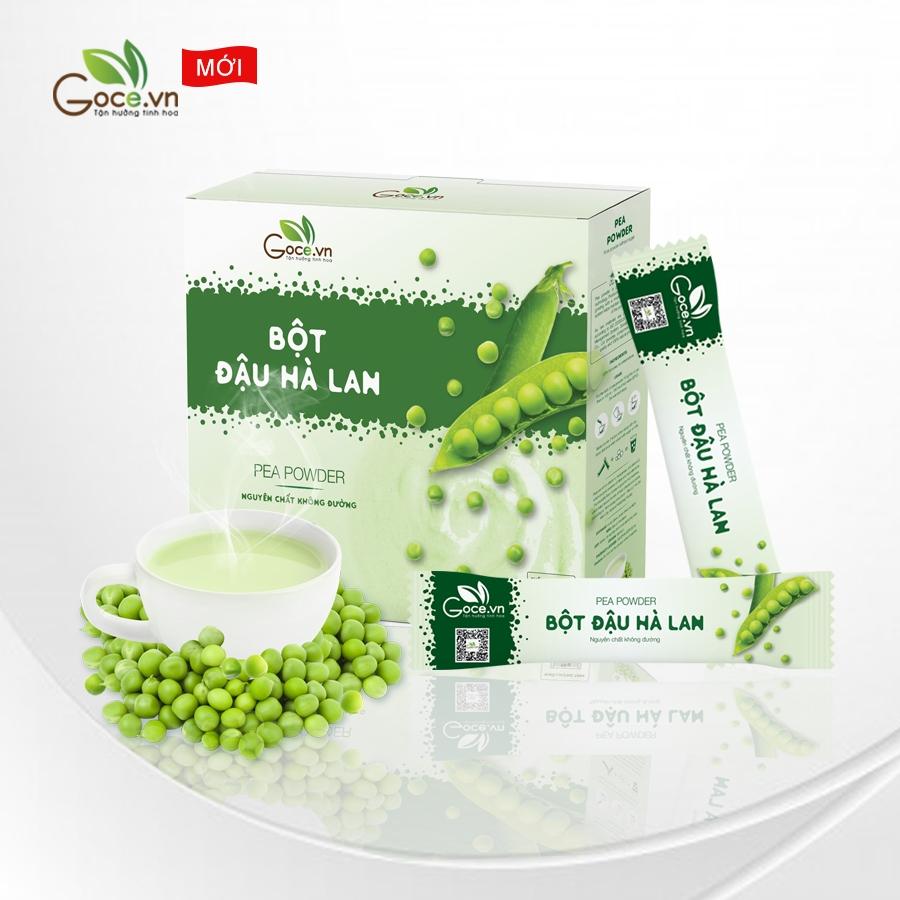 bột đậu hà lan nguyên chất goce việt nam
