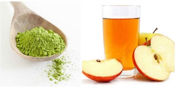 Dùng bột trà xanh đắp mặt với 6 công thức thần thánh