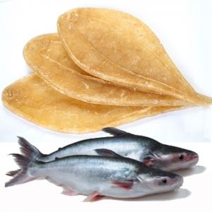 Bong bóng cá basa khô